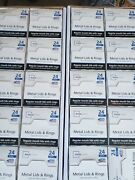 Mainstays Regular Mouth Canning Jar Lids And Rings 20 Boxes Of 24 Fast Ship-new