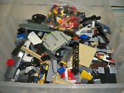 Lego 35 Lbs Mixed Lot Assorted Colors And Shapes, And Themes And Manuals