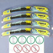 4 Rain-x 17 Windshield Wiper Blades Repel Water-beading All Weather