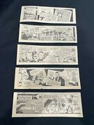 D03 Uncle Alvin By Bob Sherry Lot Of 26 Daily Comics March 1967