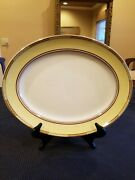 Losol Ware Art Deco 16-1/4 Oval Serving Platter 1920and039s England-mint