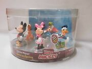 Disney Junior Mickey Mouse Clubhouse Figurine Playset, Set Of 5.