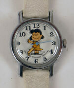 Charlie Brown Lucy Good Grief Schulz Watch Wristwatch Womens Childs For Repair