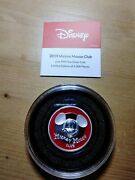 2019 Niue Disney Mickey Mouse Club 2oz Uhr Silver Coin Limited New In Box