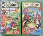 2 Franklin The Turtle Vhs Tapes Christmas Gift Birthday Party