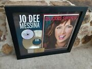 Jo Dee Messina Delicious Surprise 2005 Riaa Certified Gold Sales Award