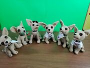 Taco Bell Chihuahua Dogs Lot Of 6 Vintage Plush Toy Animal.does Not Talk. . R4
