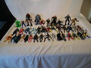 Marvel Toy Biz Lot Of 39 X-men Wolverine Action Figures Loose Collectible