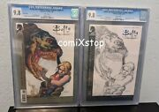 Cgc 9.8 Buffy The Vampire Slayer Season Eight 1 Special And Variant - Lot Of 2