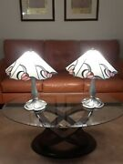 Style Stained Glass Table Lamp Shades