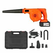 Air Blower Cordless Leaf Sweeper Vacuum Electric Suction Hose Computer Cleaner