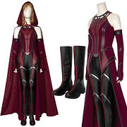 Episode 9 Wanda Vision Scarlet Witch Costume Wanda Vision Halloween Outfit Dress