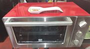 Kenmore Retro Design 4606 6-slice Convection Toaster Oven In Red