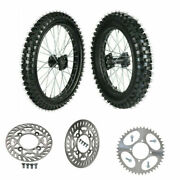 19 And 16 Front Rear Wheel Tire 70/100-19 90/100-16 For Crf 100 Kx Pit Pit Bike