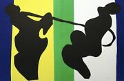Henri Matisse Le Cow-boy 1951 Hand Signed Lithograph From And039jazzand039