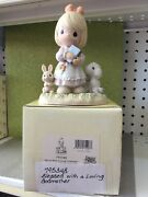 Precious Moments Blessed With A Loving Godmother Figurine   2000   New