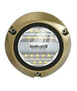 New Lumitec Seablaze X2 Led Underwater Light - Dual Color - White/blue 101516