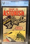 Tales To Astonish 41 Cgc 5.0 Fn. Universal Cbcswhite Pages