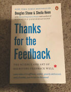 Thanks For The Feedback, The Science And Art Of Receiving Feedback Well, New