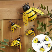 Collection Decorative Metal Bumble Bee Garden Accents Lawn Ornaments Cafe Bar
