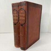 1883 The Natural Genesis Gerald Massey Volume 1 And 2 Books Rare Antique Vintage