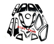 Interior Accessories Whole Kit Covers Trim 15pcs For Hyundai Veloster 2012-2017
