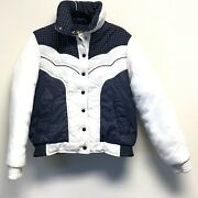 Pioneer Wear Colleen Collection Womenandrsquos Vintage Western Coat Puffer Large Winter