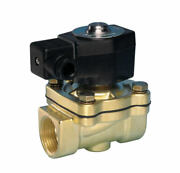 Jefferson Valves 1335 Series 3/4 In. Normally Closed Brass General Purpose 2-way
