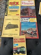 5 Railroading Railroad Catalogs Reference Lionel N Scale Ho Walther Model Craft
