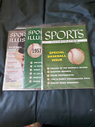 55 Issues Complete Run 1956-2010 Sports Illustrated Baseball Special Preview