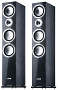 Canton Chrono 509.2 Dc Floor Standing Stereo Speakers Pair Black - Rrp Andpound2800