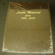 Dansco 7102 Lincoln Memorial Cents Coin Album - 4 Pages 1959-2009 Sealed
