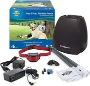 Petsafe Pif00-13663 Stay And Play Wireless Fence For Stubborn Dogs- Fast Ship