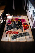 Inn Of The Sixth Happiness 4x6 Ft Vintage French Grande Movie Poster 1958 Used