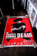 Streetcar Names Desir Toulouse Theater 4x6 Ft Bus Shelter Poster Original 1990and039s