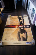 Amistad Steven Spielberg 4x6 Ft Bus Shelter French Movie Poster Original 1997