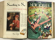 Rare Apr-jun 1933 The New Yorker Magazines-13 Vtg Orig Issues In A Bound Book