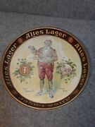 Vintage Rare Tivoli Brewing Co Detroit Mich. Altes Lager 12'' Beer Tray Preproh