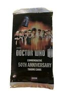 Rare Bbc Topps Dr. Who 50th Anniversary Trading Card Pack Sealed/unopened