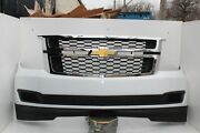 2015-2020 Chevy Tahoe Suburban Front Bumper Assembly Summit White Oem