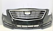 2016- 2018 Cadillac Ct6 Front Bumper Asm Oem Gm- Base Green With Envy