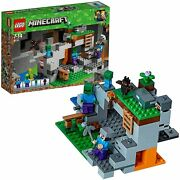 Lego Minecraft Zombie Cave 21141 Educational Block Toys From Japan Brand New