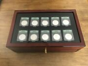 Silver Eagle Monster Box Collection 1986 Thru 2015 Anacs Ms69