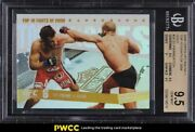 2009 Topps Ufc Round 1 Top Fights Gold St-pierre Vs Fitch /88 24 Bgs 9.5 Gem