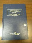 Handbook Of United States Coins With Premium List 1982 By R.s.yeoman