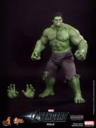 Hot Toys The Hulk Mms186 The Avengers New And Mint In The Box American Seller