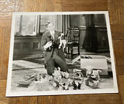 Rare Vintage 8x10 Black And White Pull Toy Photo 1931 Fisher Price All Fair Etc