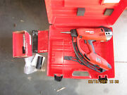 Hilti Gx3 Gas Operated Actuated Nail Gun Fastening Tool W/ Case Combo Kit 975