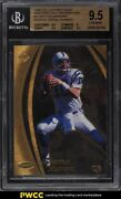 1998 Collectorand039s Edge Masters Gold Redemption Peyton Manning Rookie Rc Bgs 9.5