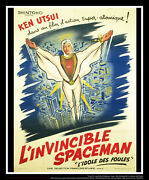 The Invisible Spaceman 1 On Linen 4x6 Ft Grande Movie Poster Original 1960